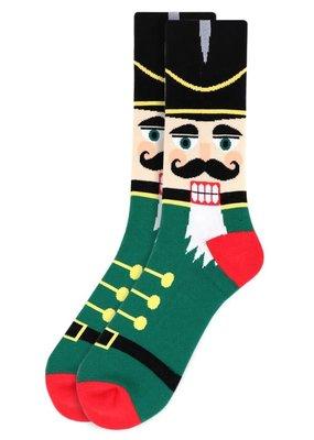 Selini Men's Novelty Socks Nutcracker