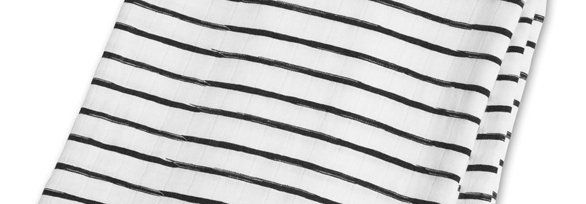 Mousseline en bambou Moderne - Lignes