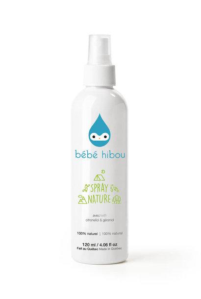 Spray Nature chasse-moustique 100% naturel