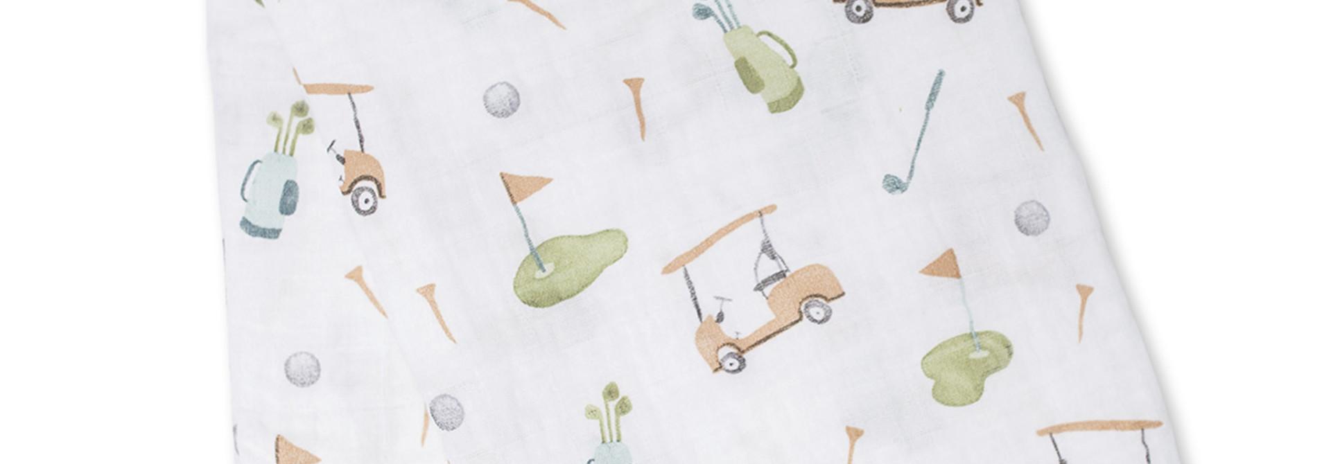 Mousseline en coton - Golf