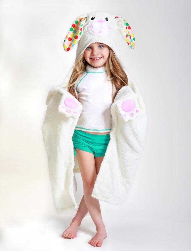Sortie de bain pour enfants Bella la lapine-1