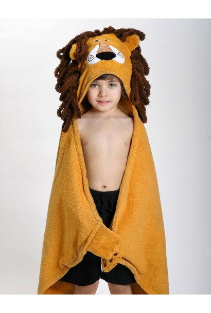 Sortie de bain pour enfants Leo le lion