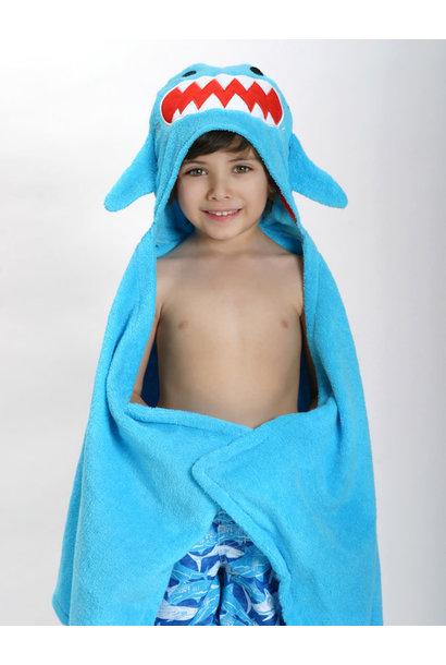 Sortie de bain pour enfants Sherman le requin