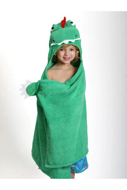 Sortie de bain pour enfants Devin le dinosaure