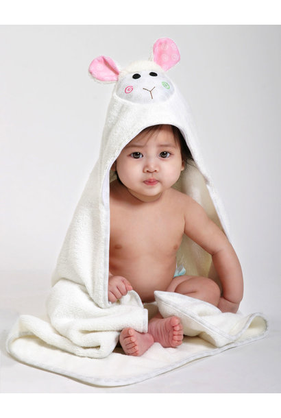 Sortie de bain pour bébés Lola le bébé mouton