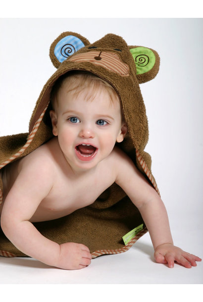 Sortie de bain pour bébés Max le bébé singe