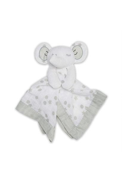 Mousseline Lovie en coton - Eléphant