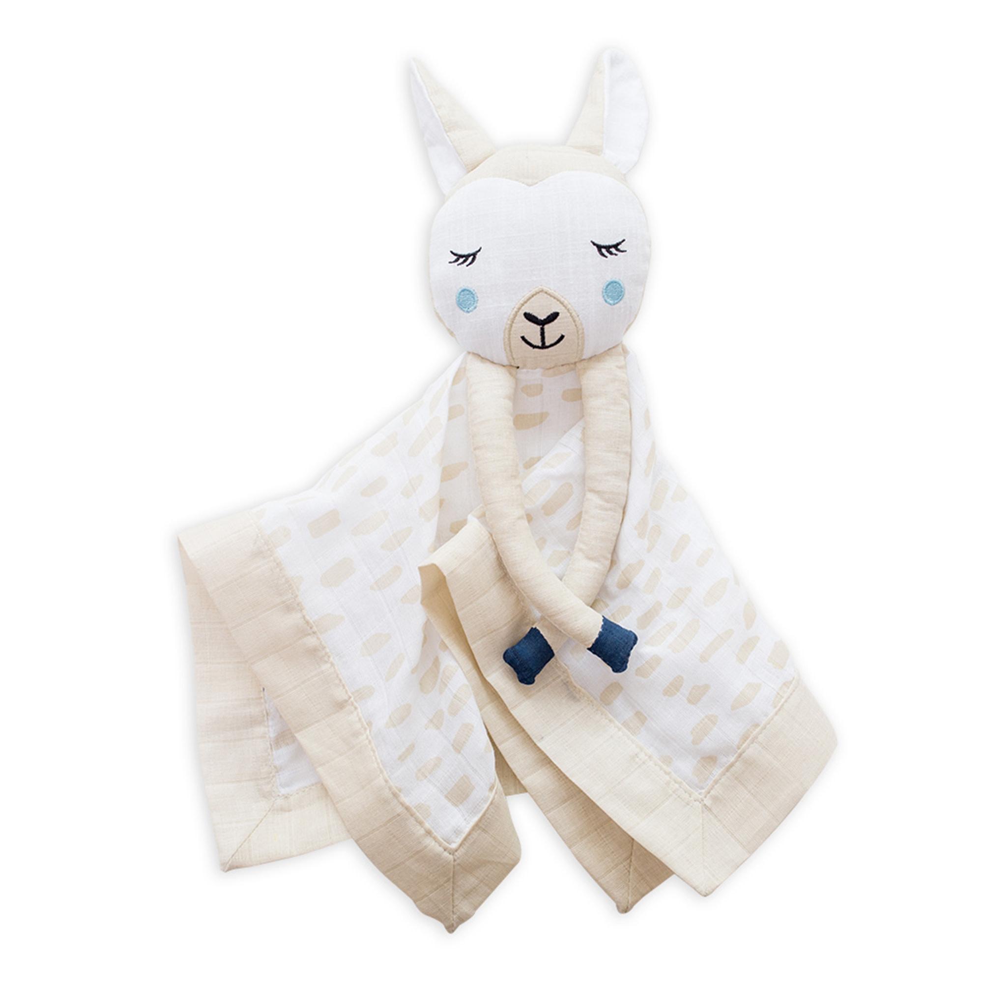 Mousseline Lovie en coton - Lama-1
