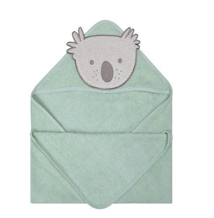Serviette à capuchon en ratine - Koala-1