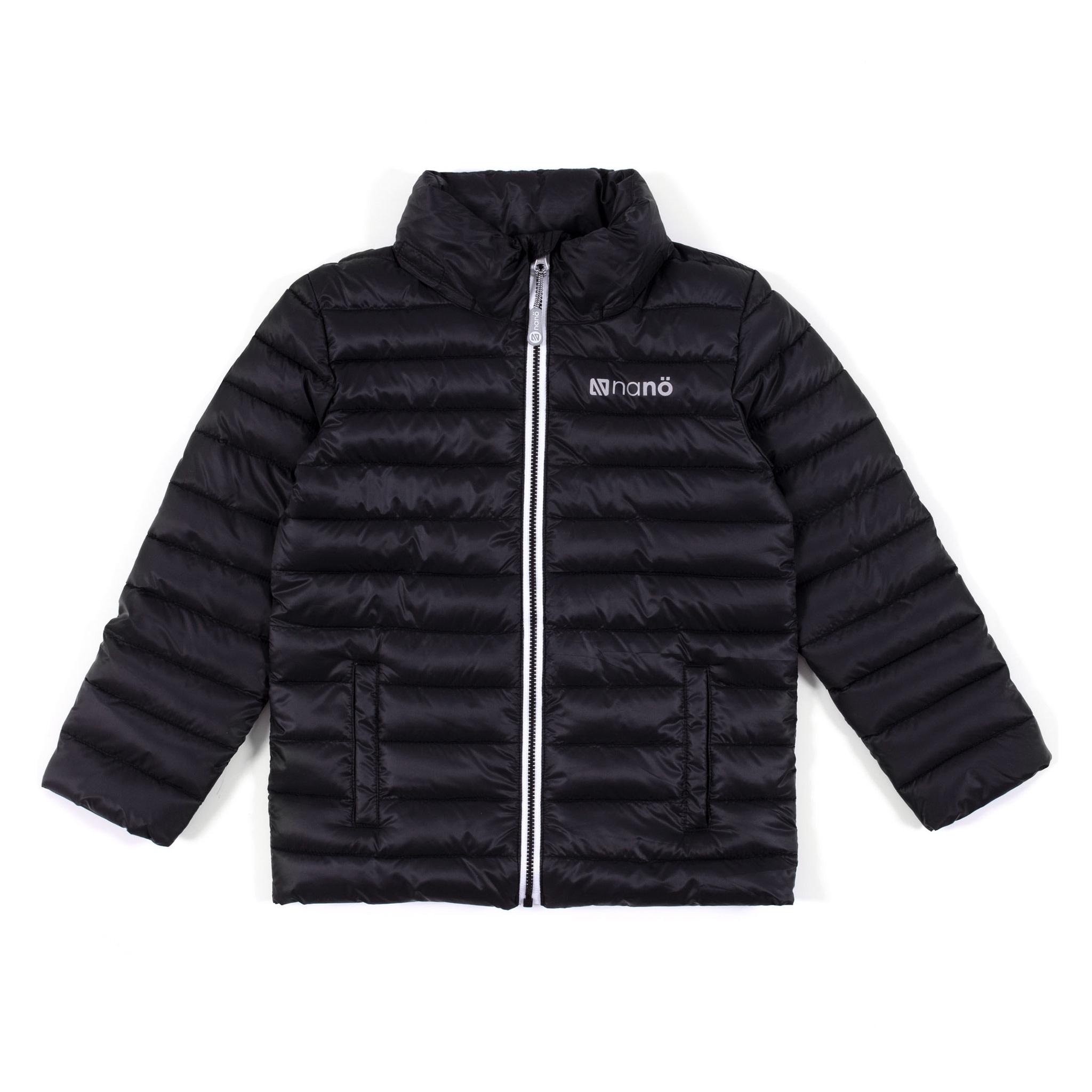 Manteau printemps-automne noir-1