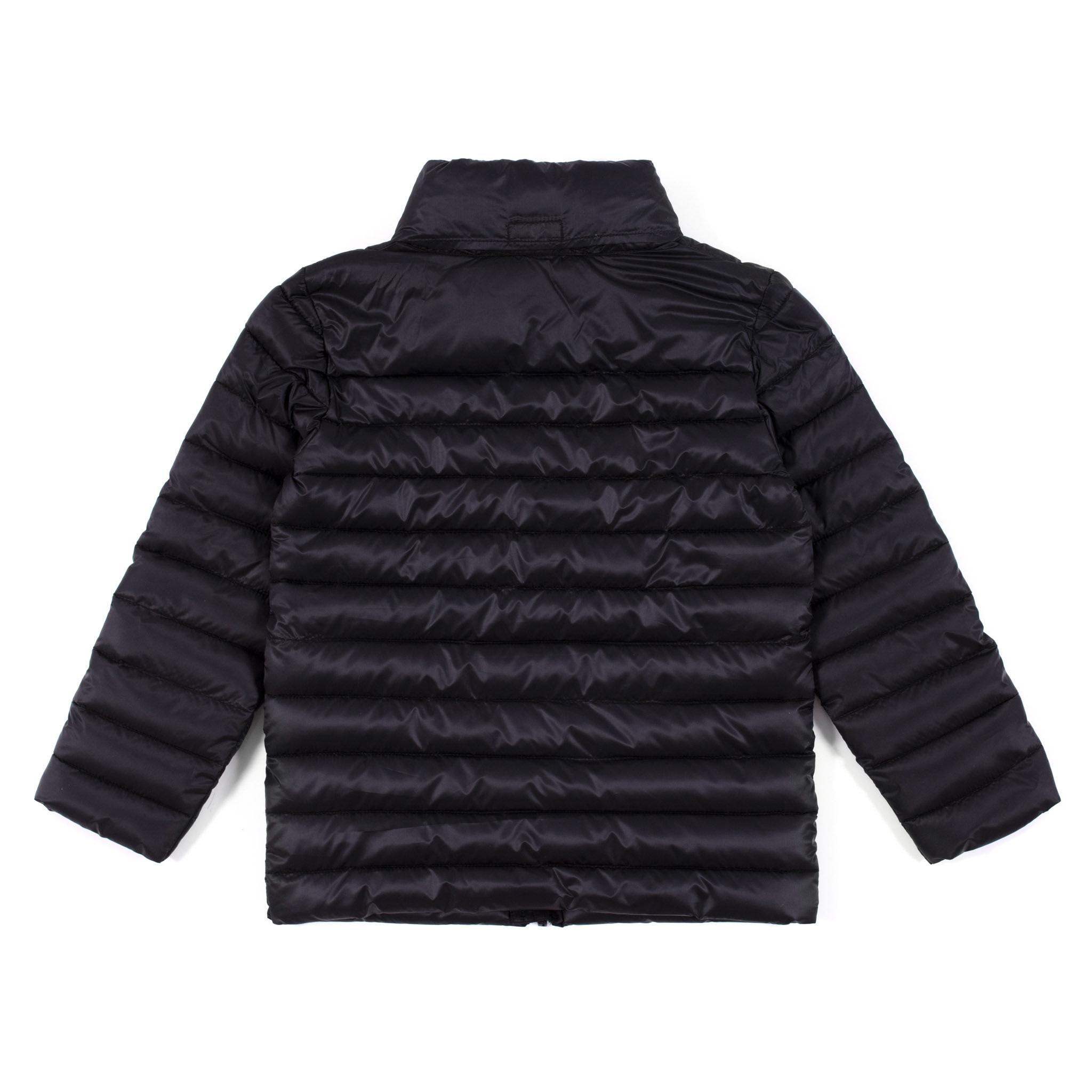 Manteau printemps-automne noir-2