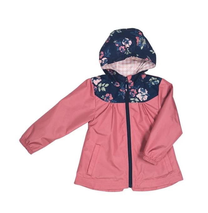 Manteau mi-saison - Bordeau-1