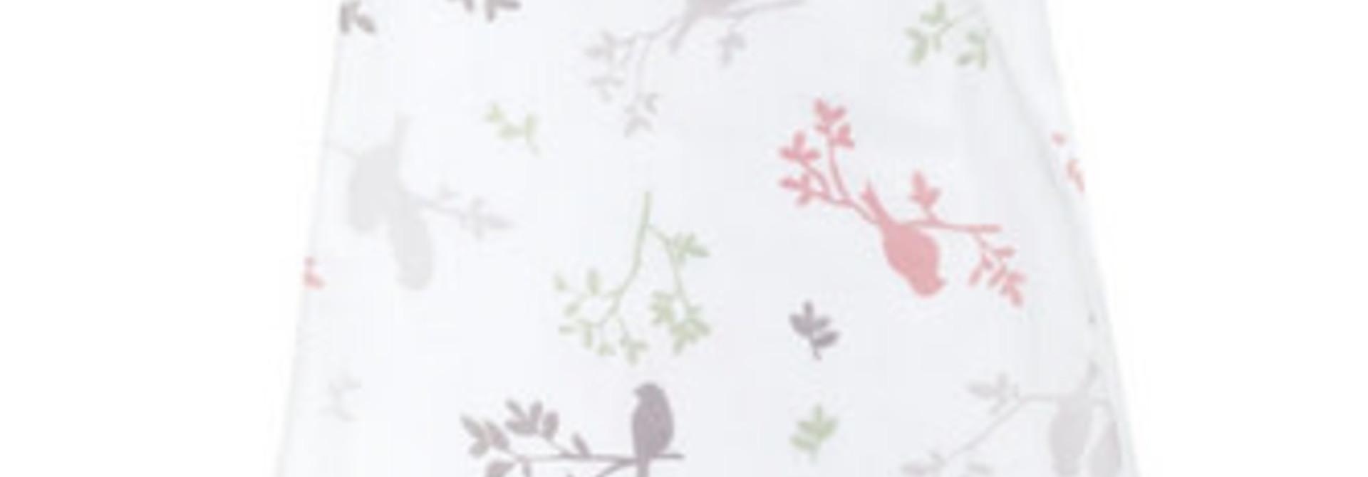 Sac de nuit mousseline de coton - Oiseaux (0.7tog)