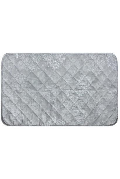 Piqué imperméable  en coton - Pissenlits gris