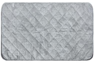 Piqué imperméable  en coton - Pissenlits gris-1