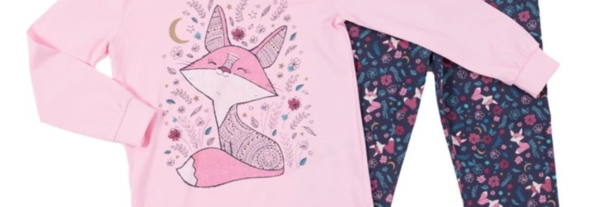 Pyjama qui brille dans le noir pour filles