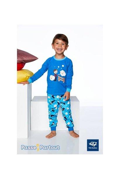 Pyjamas Passe-Partout Pruneau