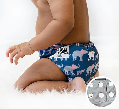 Couche à poche -  Éléphant-1