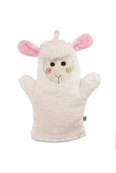 Mitaine pour le bain - Mouton