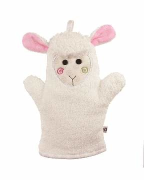 Mitaine pour le bain - Mouton-1