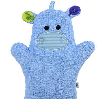 Mitaine pour le bain - Hippo-1