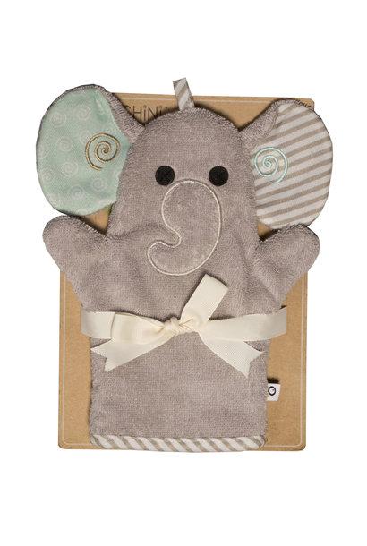 Mitaine pour le bain - Elephant