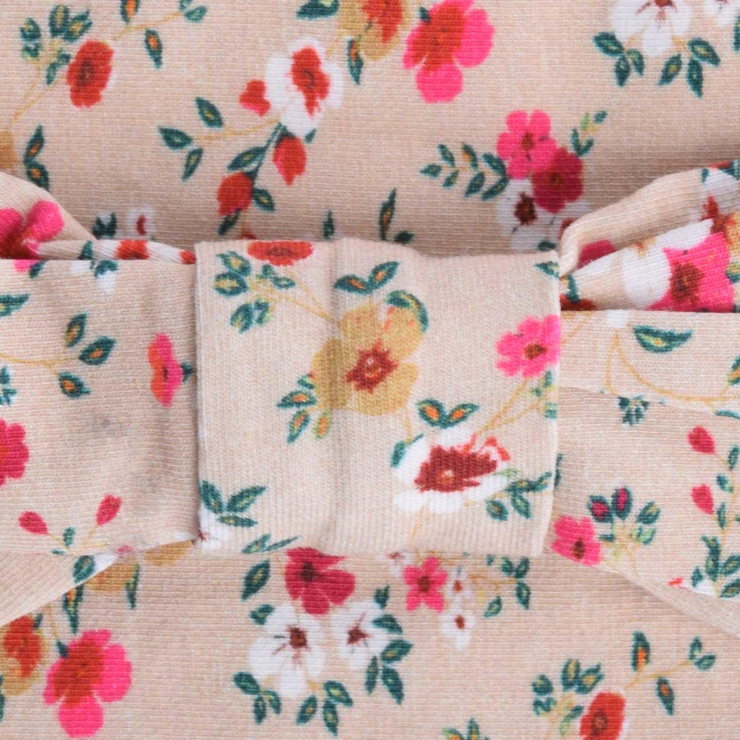 Bandeau de tête vintage en coton-2