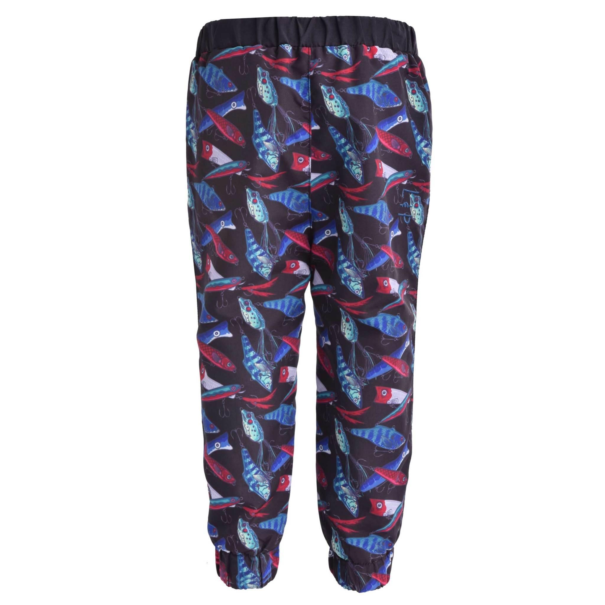Pantalon d'extérieur doublé en coton-3