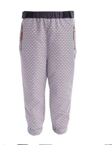 Pantalon d'extérieur doublé en coton-1