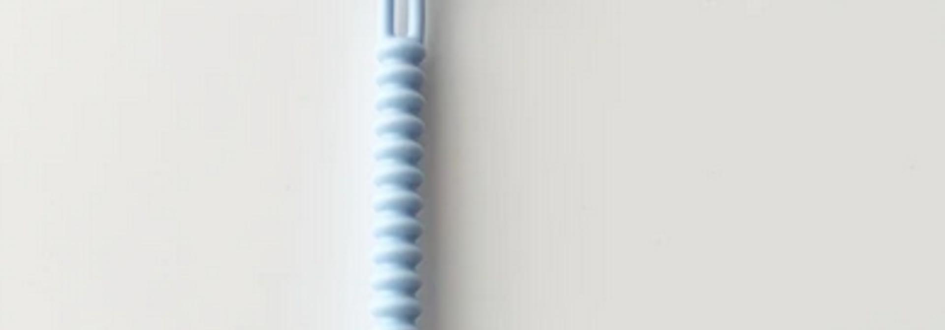 Attache-suce  - Silicone Bleu