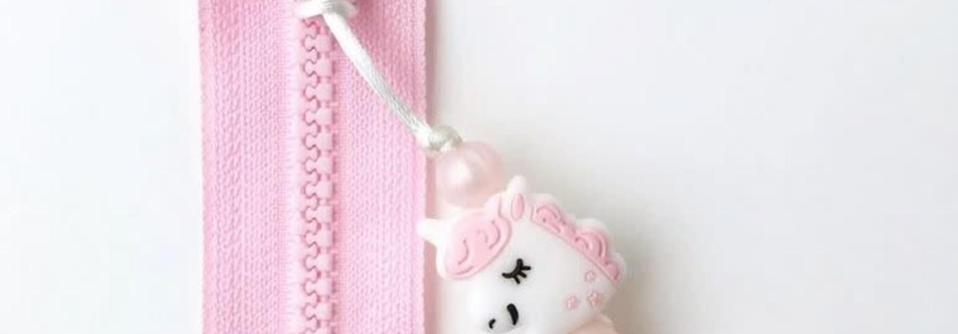 Ami Zip - Licorne Rose