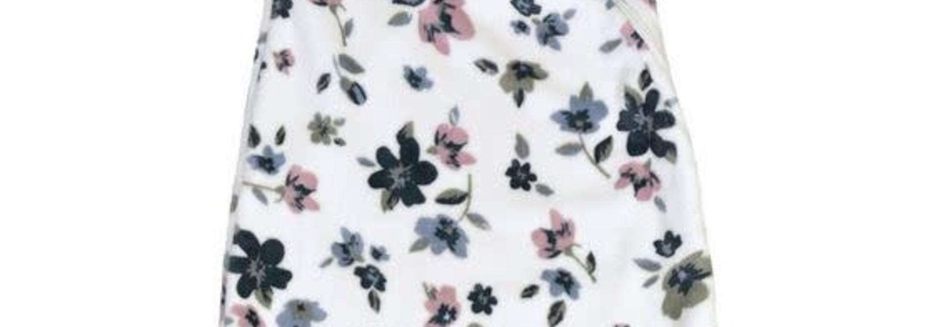 Sac de nuit en en peluche (1.5 tog) - Fleurs