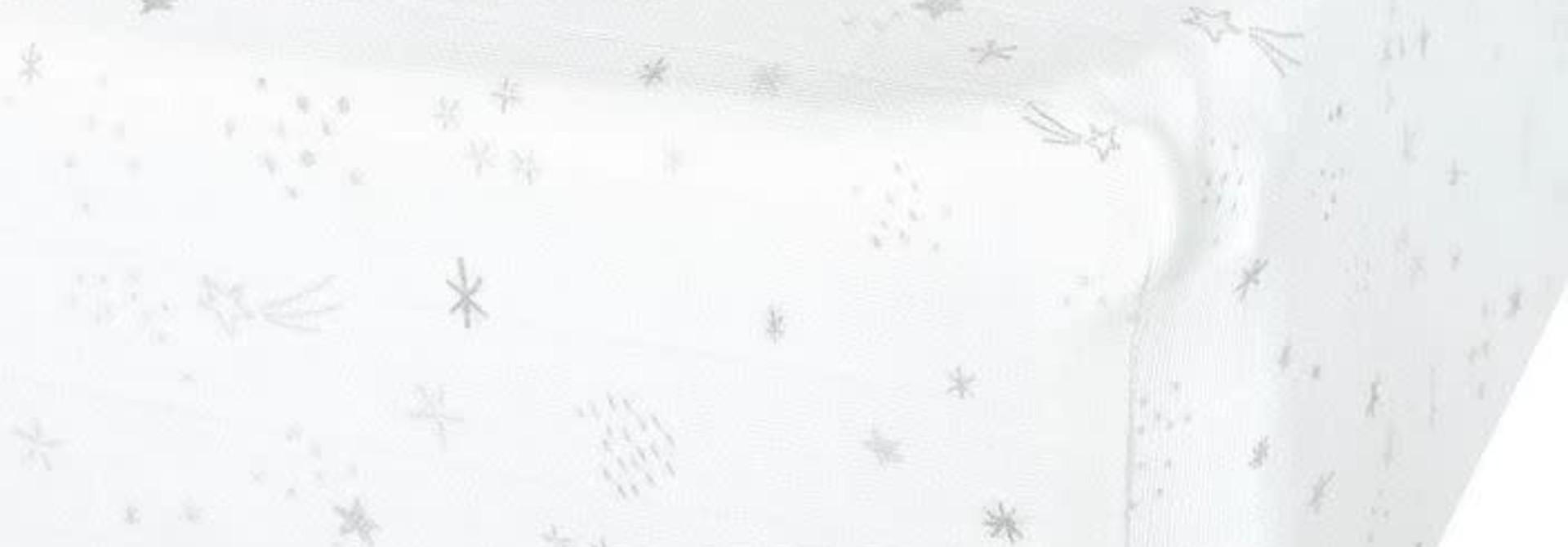 Drap contour en mousseline - Stars