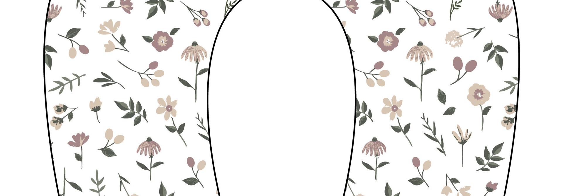 Oreiller de grossesse Multi-Fonctions - Floral