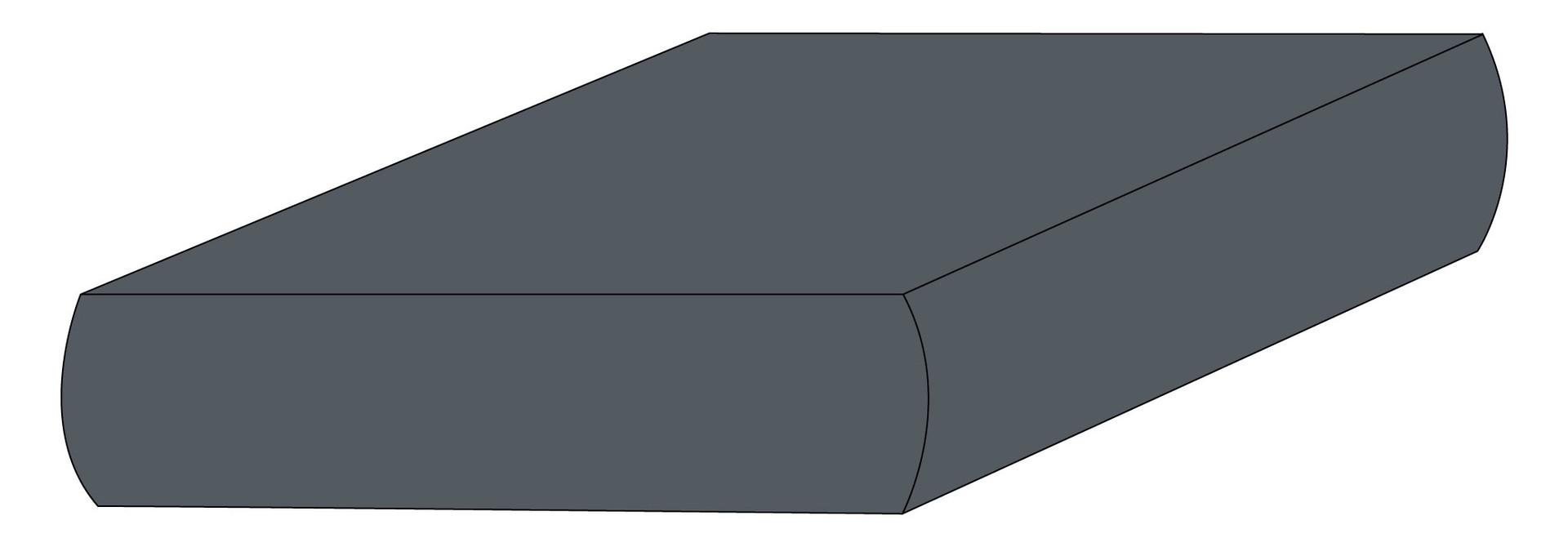 Drap contour coton - Charcoal