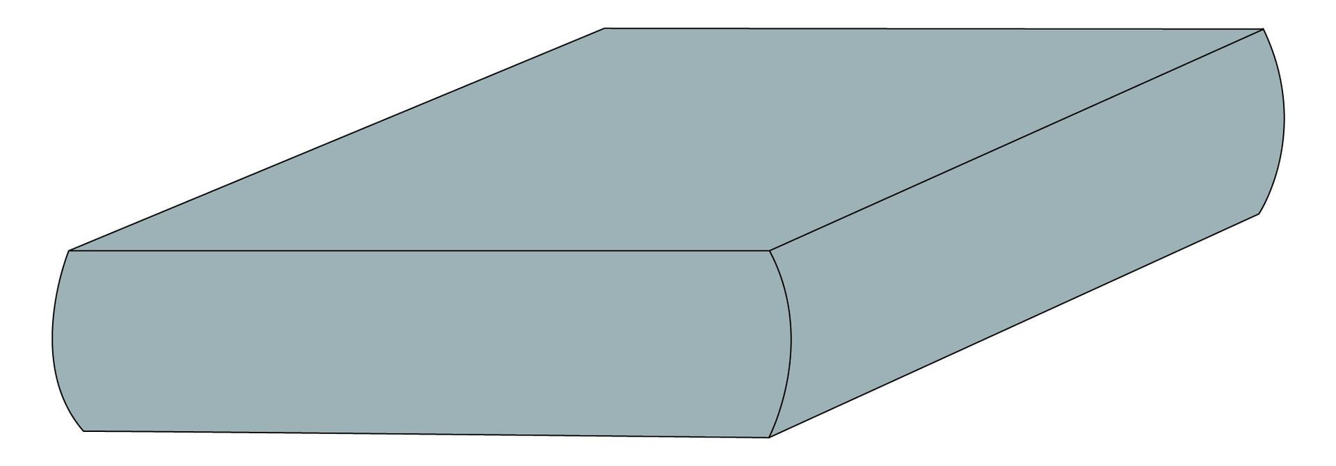 Drap contour coton - Glacier
