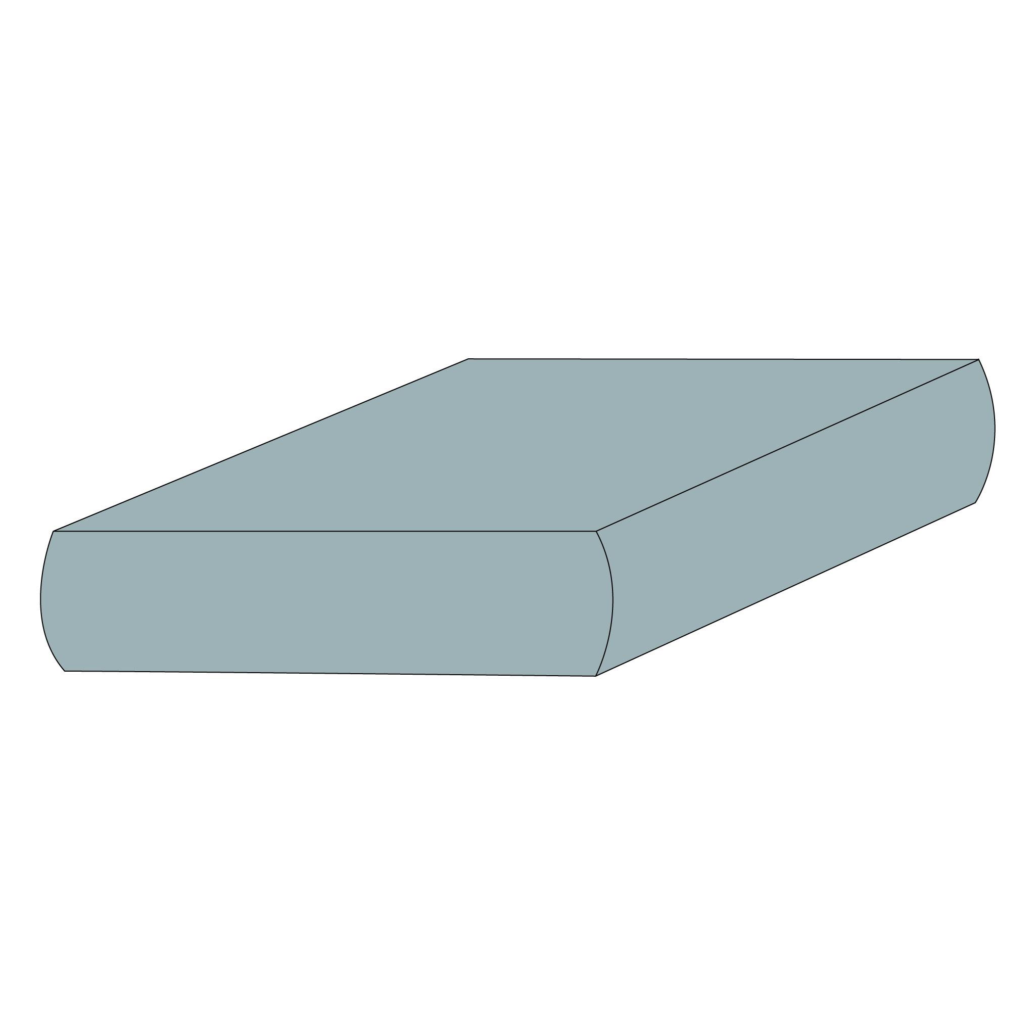 Drap contour coton - Glacier-1