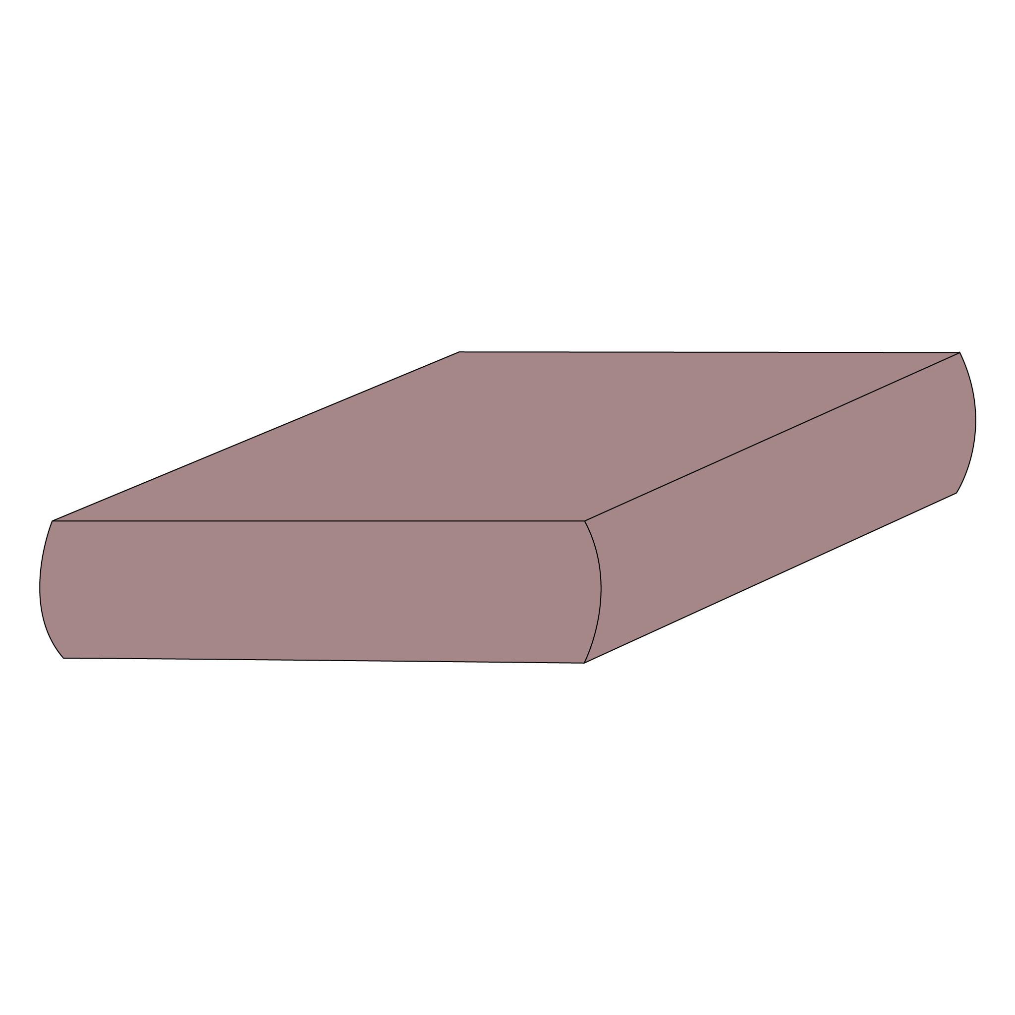 Drap contour coton - Plum-1