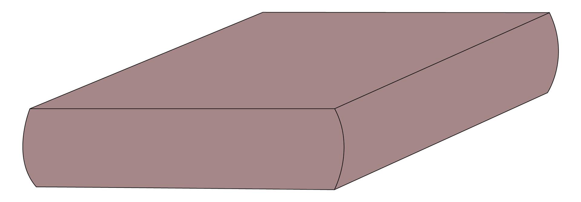Drap plat coton - Prune