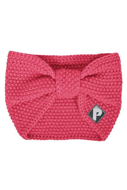 Bandeau en tricot - Corail