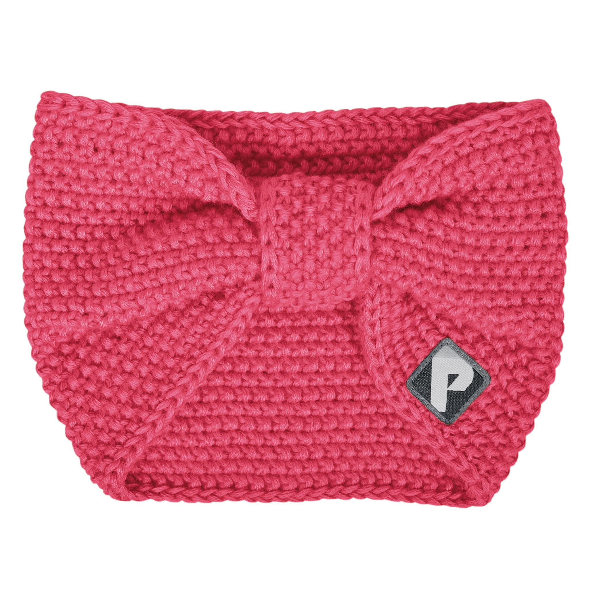 Bandeau en tricot - Corail-1