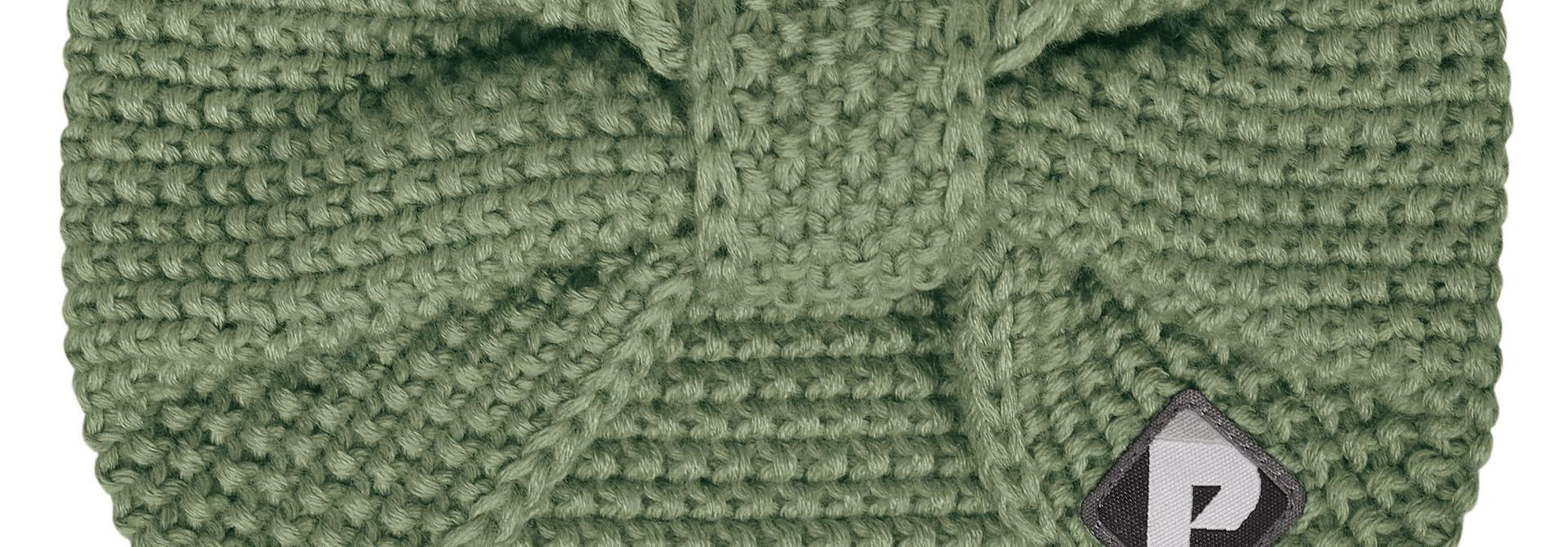 Bandeau en tricot - Kaki