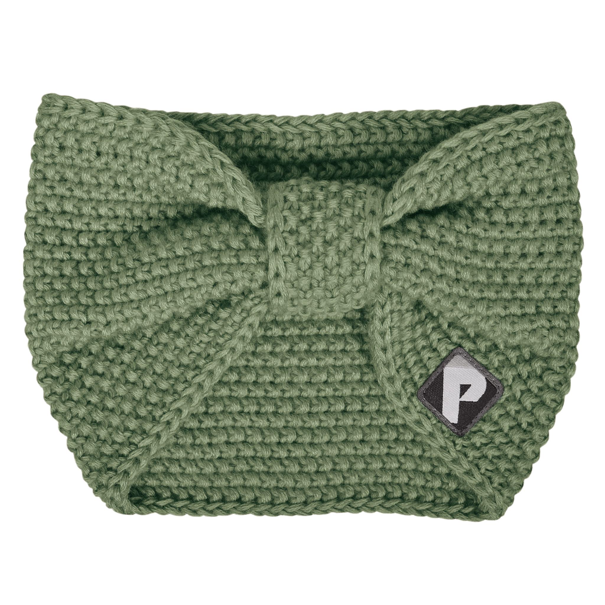 Bandeau en tricot - Kaki-1