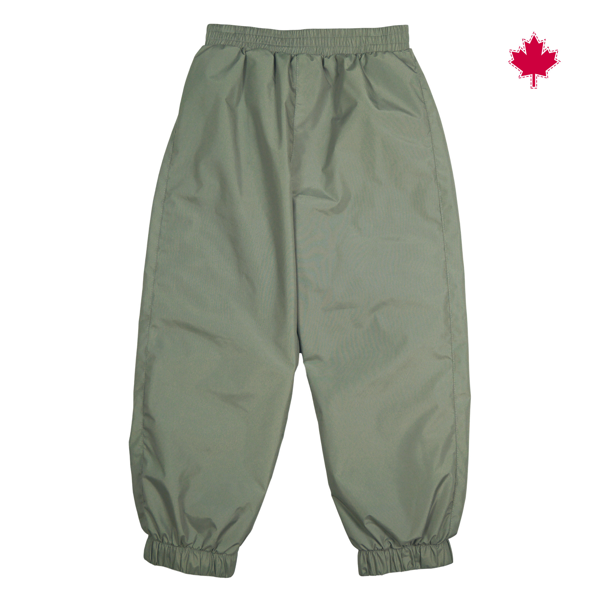 Pantalons mi-saison Taffeta - Kaki-1