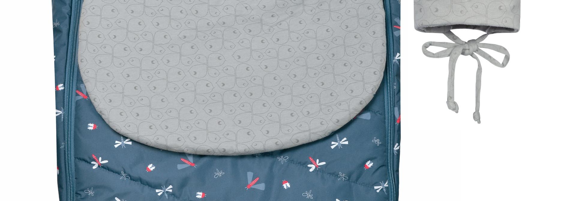 Couvre-siège de voiture mi-saison - Libellules Bleu