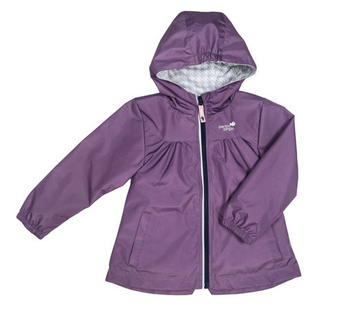 Manteau mi-saison - Raisin-1