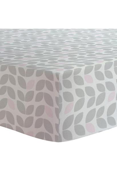 Drap contour coton flanelle - Petal grey
