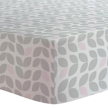 Drap contour coton flanelle - Petal grey-1