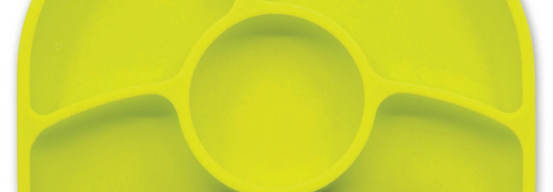 Yümi - Assiette en silicone avec ventouse