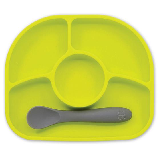 Yümi - Assiette en silicone avec ventouse-1